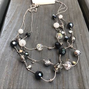 Jewelry - NWOT | Multi-color & Multi-layer Crystal Necklace